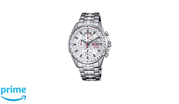 Amazon.com: Festina Chronograph Sport F6844/1 Mens Chronograph very sporty: Watches