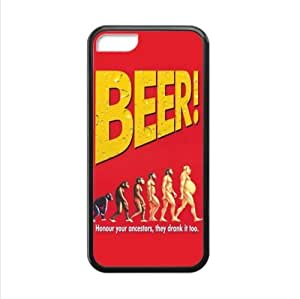 Honour your ancestors,they drunk it too.funny beer image,interesting beer quotes Apple iphone 5C Plastic and TPU (Laser Technology) Case Cover