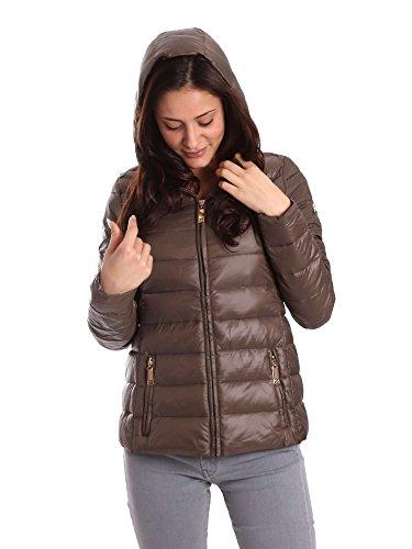 Byblos blu 679105 Down Jacket Women Brown M