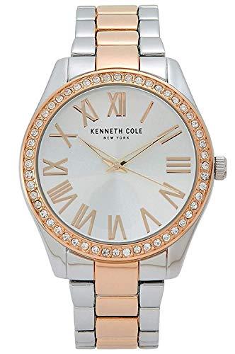 Kenneth Cole New York Women's Silver Dial Two-Tone Bracelet Watch KC50664007