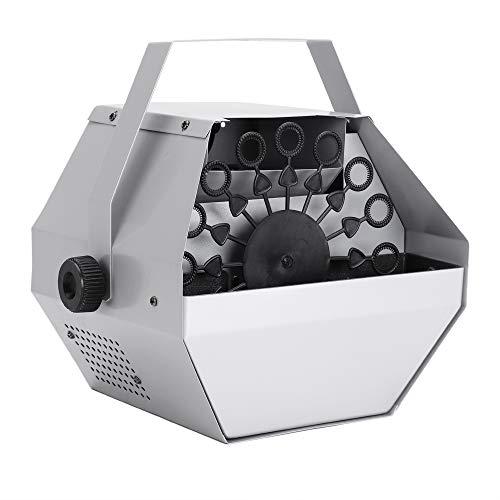 Tenozek 30W Automatic Mini Bubble Maker Machine Auto Blower for Wedding/Bar/Party/ Stage Show Silver by Tenozek (Image #8)
