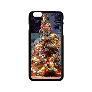 Colorful Christmas tree design Phone Case for Iphone 6