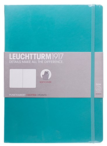 Leuchtturm Softcover Composition B5 Dotted Notebook [Emerald] ()