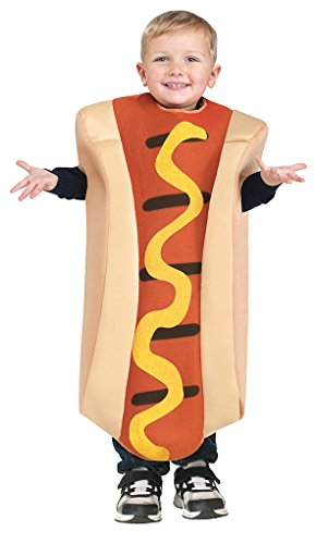 Toddler Size Hot Dog Costume - Foodie - fits (Toddler Hot Dog Costumes)