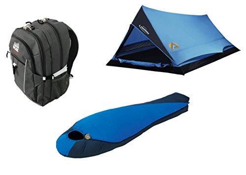 High Peak EE. UU. alpinizmo Saco de Dormir + swiftlite Tienda de campaña + Mochila Combo,...