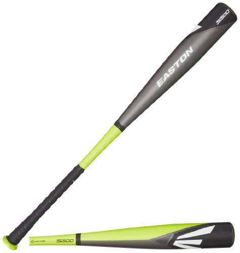 Easton BB14S500 S500-3 BBCOR Baseball Bat, Green/Grey/Black, 31-Inch/28-Ounce