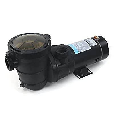 """1.5 HP Self Primming Above Ground Swimming Pool Pump 2"""" NPT With Strainer Basket"""