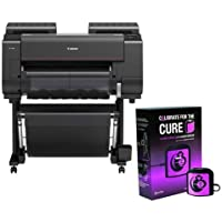 Canon imagePROGRAF PRO-2000 24 Professional Large-Format Inkjet Photo Printer, 2400x1200 dpi, USB 2.0, Ethernet & Wi-Fi - With X-Rite ColorMunki Accurate Monitor Display Calibration Pink