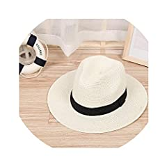Style:Casual Pattern Type:Solid color:7 color Gender:Women Material:Polyester Straw Department Name:Adult Item Type:Sun Hats strap type:adjustable Model Number:Summer sun hat size:56-58cm