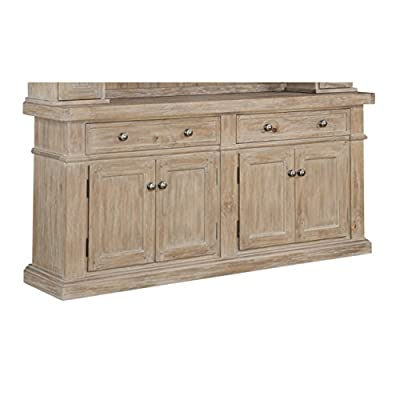 Emerald Home Furnishings Castle Bay Buffet, Standard, Pine-X2147