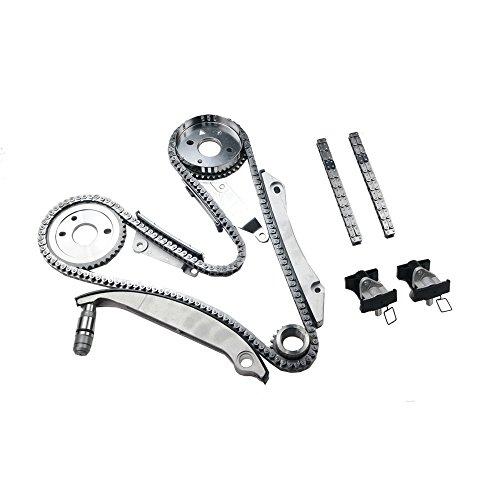 2.7 Engine Parts (MOCA Timing Chain Kit with Tensioner for 02-07 Chrysler Concorde & Sebring & 300 & 05 - 07 Dodge Magnum 2.7L V6 DOHC)