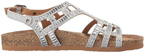 Bushiest Sandal Nicht Gladiator Silver bewertet Frauen OzOnxEIp