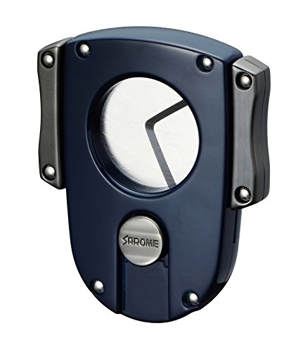 Sarome Metal Cigar Cutter EXCT2-03 Blue by Sarome (Image #7)