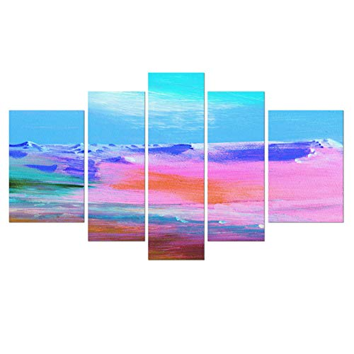 KLKLDD Wholesale Famous Abstract Painting Beautiful Images Canvas,40X60 40X80 ()