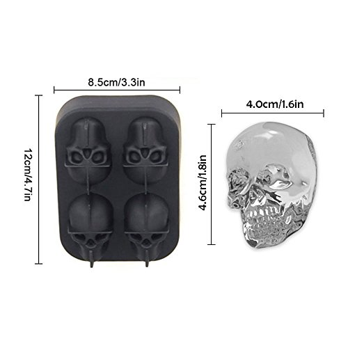 3D-Skull-Ice-Mold-Tray-Silicone-Ice-Cube-Mold-by-FLYEEGO-Whiskey-Ice-Ball-Maker-Chocolate-Mold-Maker-Nuts-Mold-Maker-BPA-Free