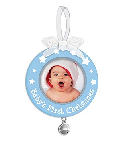 Tiny Ideas Baby's First Christmas Holiday Keepsake Ornament, Blue by Tiny Ideas