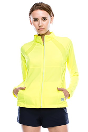 (Kurve Sport Women's Lightweight Active Performance Track Jacket (Large,)