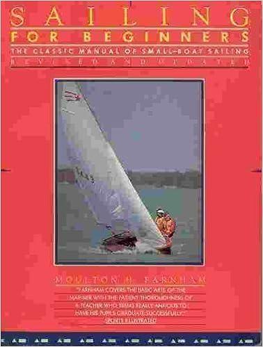 Sailing for Beginners by Moulton Farnham (1986-07-01)