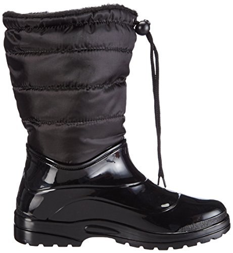 amp; Lined Long Black Warm Boots WoMen New Black Shaft Rubber Black Scholl Boots Bootees Vestmann P4qwUp