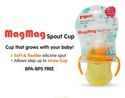 Pigeon MAG MAG SPOUT Cup(Orange)