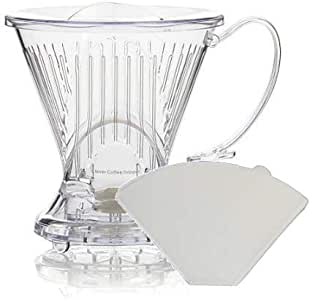 Clever Coffee Dripper With Bonus Filters Included (Clear)