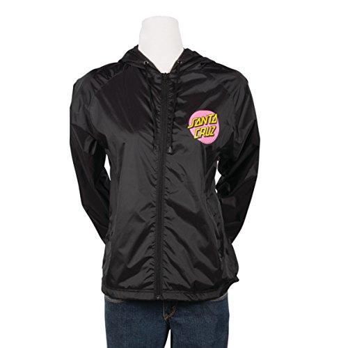 Santa Cruz Girls Other Dot Jacket Medium Black