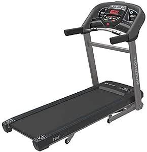 Horizon Fitness T202 Advanced Running Treadmill, Black