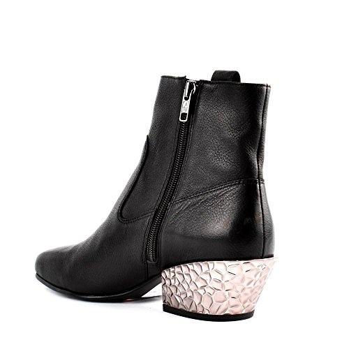 bis Leather Ankle Boot Black Black Ash Gang Footwear vHIqExw4AP