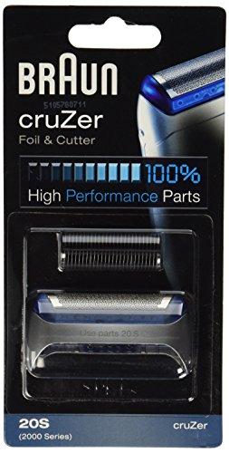 Cruzer3 Shaver - Braun Cruzer series razor screen foil and cutter blade.