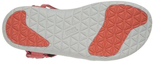 Sarcelle d'Athlétisme Chaussures Sandal Bleu Rose Rose Teva Coral Femme W's Sanborn 0qUTT6