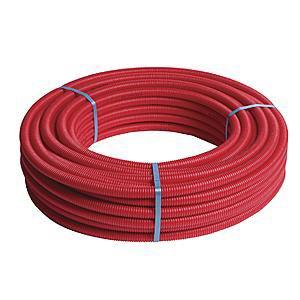 Henco-tubo multicapa, 25 m, diámetro de tubo multicapa Pre-Funda rojo