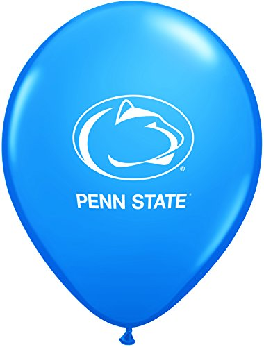 Pioneer Balloon Company 10 Count Penn State Latex Balloon, 11'', Multicolor
