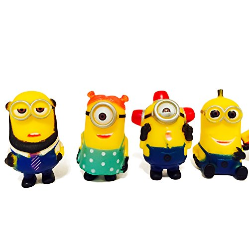 Minion Toys And Games : Minions toys party supplies despicable me action figures