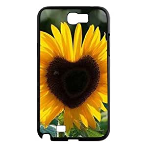 Sunflower CUSTOM Case Cover for Samsung Galaxy Note 2 N7100 LMc-11953 at LaiMc