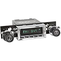 RetroSound HC-116-117-37-73 Hermosa Direct-Fit Radio for Classic Vehicle (Chrome Face and Buttons and Chrome Bezel)