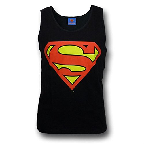Superman+tank+tops Products : Superman Symbol Black Men's Tank Top