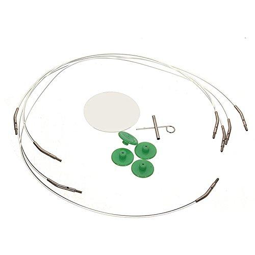 Guajave 2,75-10 mm Set di 13 Ferri circolari intercambiabili in Alluminio