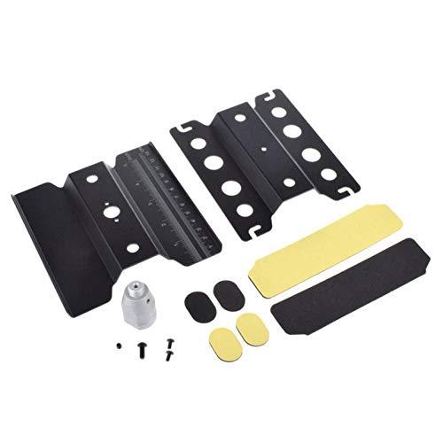 FindeGo RC Car Repair Station Metall Repair Station 360 Grad drehen Arbeiten für 1/10 1/8 Aluminium Montageplattform Ständer RC Crawler Modellautos