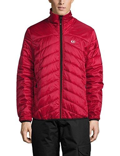 Ultrasport Advanced Men's Under Jacket Loke, down jacket, midlayer Rot/Rot