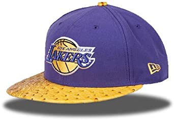 Gorra de los Ángeles Lakers en color morado de New Era. 59Fifty ...