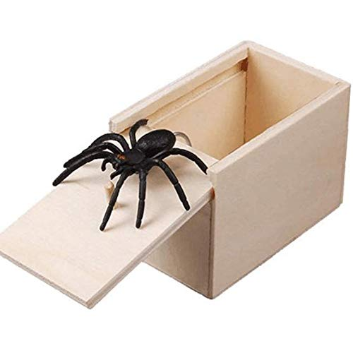 Crunchy Cherry Treats - Cherry-Lee Spider Tricky Wood Plastic Toy Safe and Healthy Plaything for Prank
