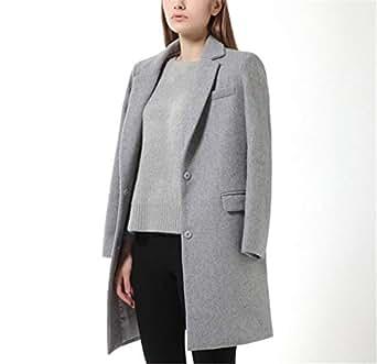 Amazon.com: Micca Bacain Woman Wool Coat Winter Jacket