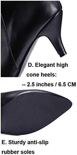 alla Donna Cinturino Nero Con Caviglia HiTime 35 Nero EZ6qI