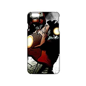 Angl 3D Case Cover Cartoon Cute Ironman Phone Case for iPhone6