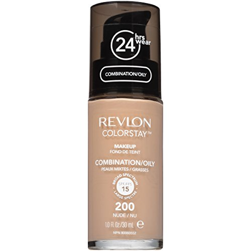 Revlon ColorStay Liquid Makeup for Combination/Oily Skin, Nude, 1 Fluid Ounce