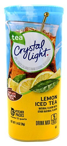 Crystal Light Iced Tea 12 Qt, 1.4-Ounce Packages (Pack of 4) ()