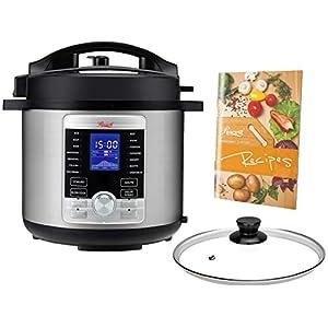 Rosewill RHPC-19001 6-QT Pressure Cooker 10-in-1 Programmable Instapot Multicooker, Slow Cooker, Rice, Yogurt, Cake… 6