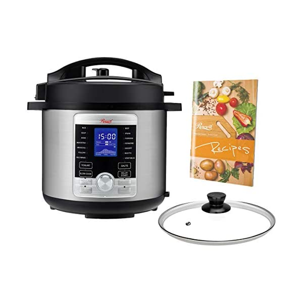 Rosewill RHPC-19001 6-QT Pressure Cooker 10-in-1 Programmable Instapot Multicooker, Slow Cooker, Rice, Yogurt, Cake… 1