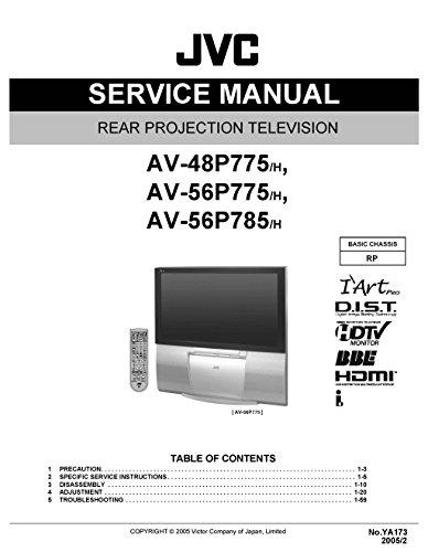 - JVC AV48P775/H AV56P775/H AV56P785/H SERVICE MANUAL