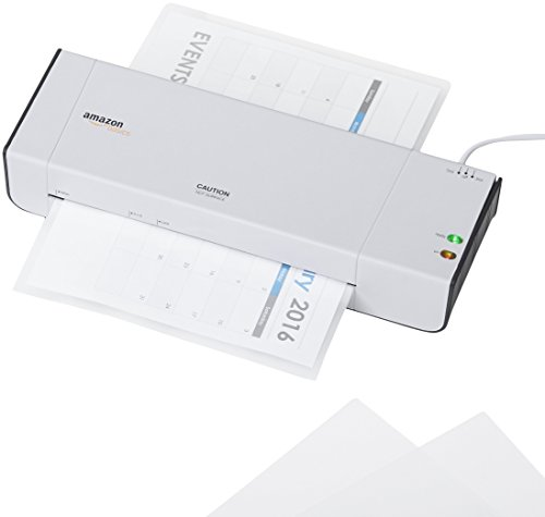 Large Product Image of AmazonBasics Thermal Laminating Pouches - 8.9